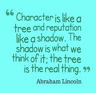 character/reputation